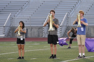 2017-08-03 3rd day of Band Camp