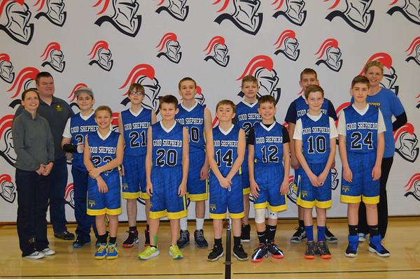 Small Grade School Basketball Tournament