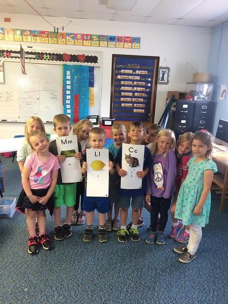 Joy Hoffmann, Kindergarten Class
