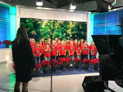 ES Honor Choir at CBS11