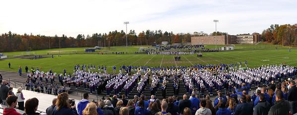 Field Show at Salem High School, 11/04/17