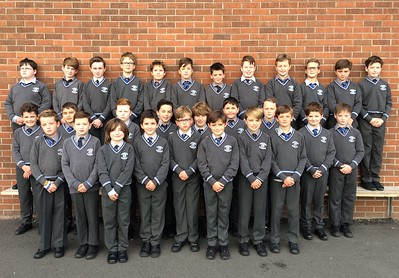 Form 5.1 looking smart in their uniforms on their first day back! Here's to a super year for 2017-2018!