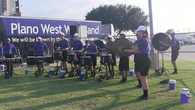 20170901 - Drumline Warmup 1
