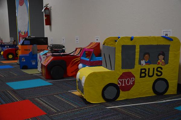 Kindergarten Car Parade