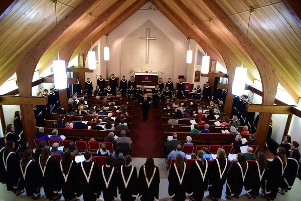 College Choir Tour 2018