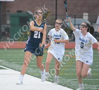 Franklin - Foxboro Girls Lacrosse 5-16-18