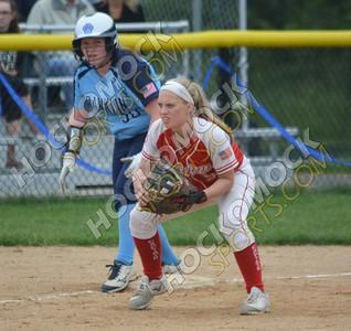 Franklin - North Attleboro Softball 5-28-18