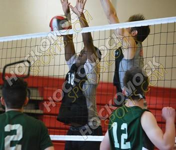 Milford - Burncoat Boys Volleyball 5-31-18
