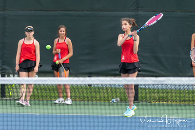 Park Tudor Girls Tennis Senior Night_5/4/18