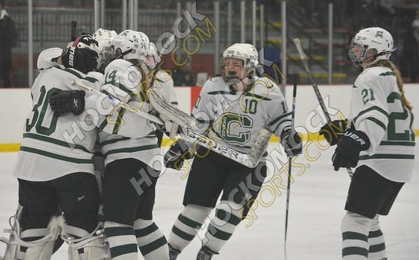 Canton - Walpole Girls Hockey 3-4-18