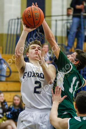 Foxboro-Canton Boys Basketball - 02-13-18