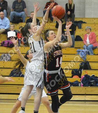 Foxboro - Stoughton Girls Basketball 2-6-18
