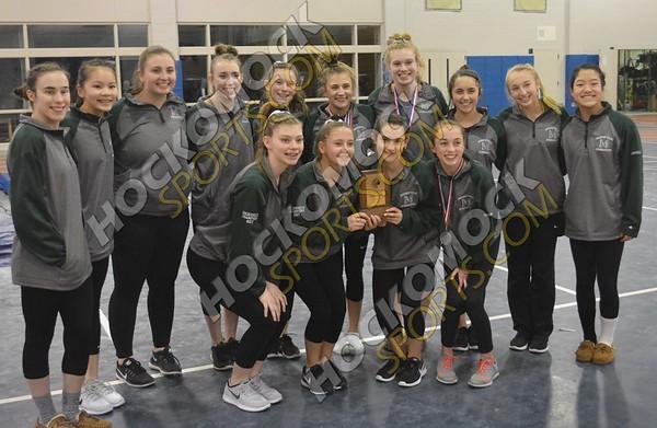 Hockomock Gymnastics Championships 2-10-18