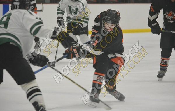 Oliver Ames - Westwood Boys Hockey 2-28-18