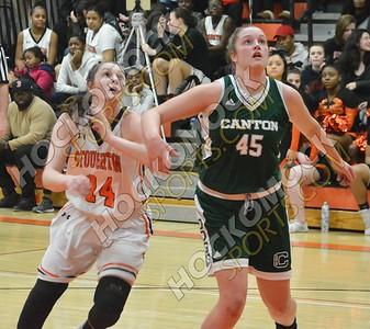 Stoughton - Canton Girls Basketball 2-16-18
