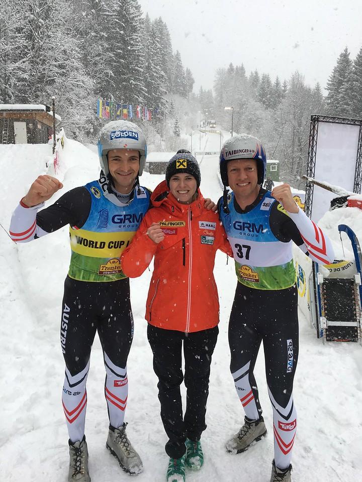 Kammerlander (AUT), Diepold (AUT) & Scheikl (AUT)