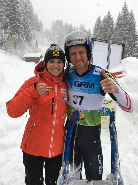 Michelle Diepold (AUT) & Michael Scheikl (AUT)