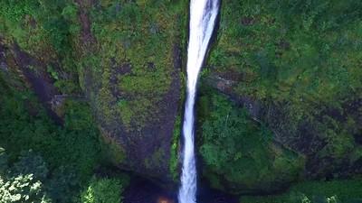 1-Rising at Horsetail Falls