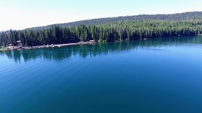 Waldo Lake  in the Cascade Lakes Region