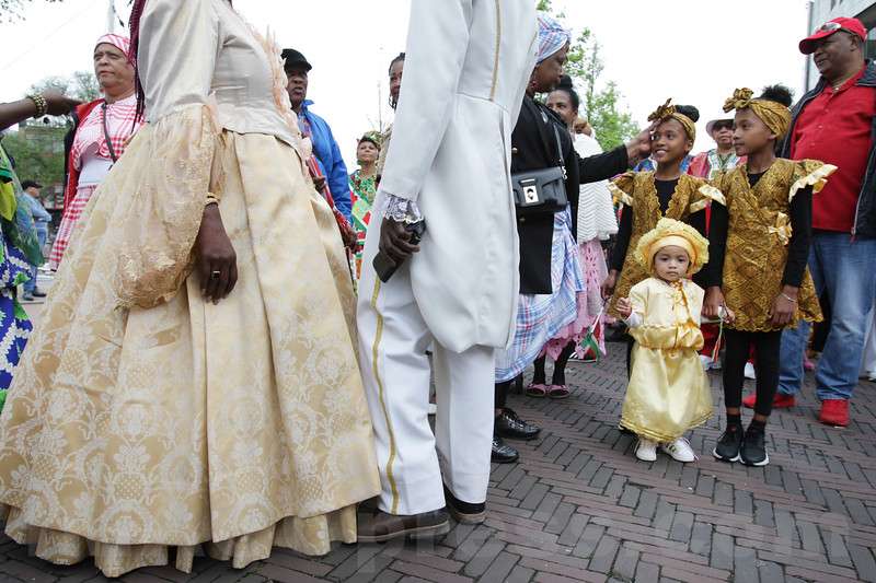 Netherlands - Bigi Spikri celebration of the Reminding Abolition of Slavery Day in Amsterdam