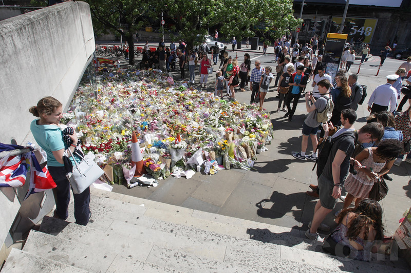 England -  Message and Condolence for the victims Terror Attack in London