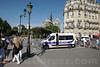 France: Security at Notre-Dame Cathedral in Paris