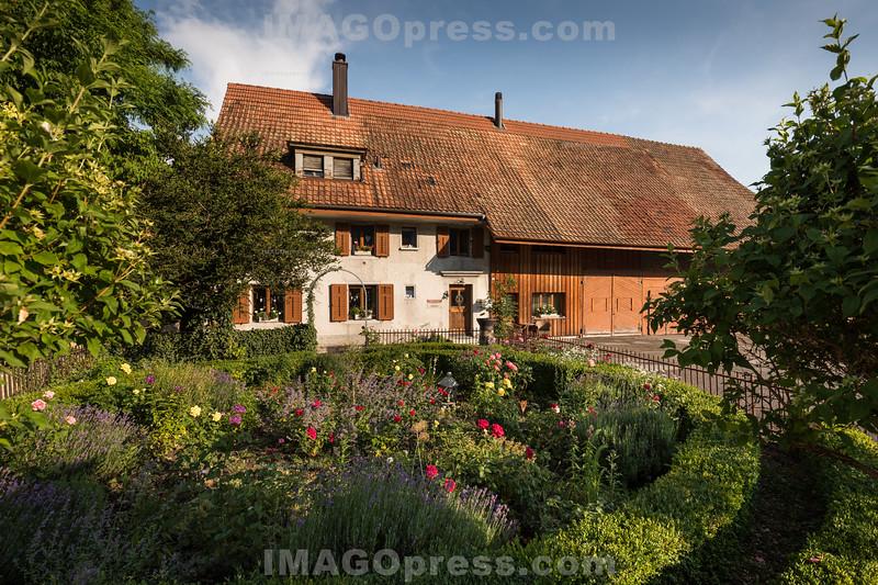 Bauernhaus in der Gemeinde Egerkingen © Patrick Lüthy/IMAGOpress.com