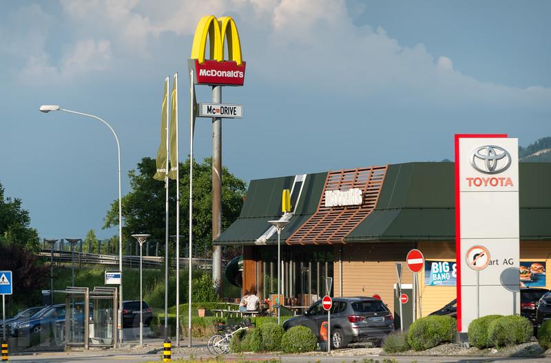 McDonald's Restaurant in  4622 Egerkingen © Patrick Lüthy/IMAGOpress.com