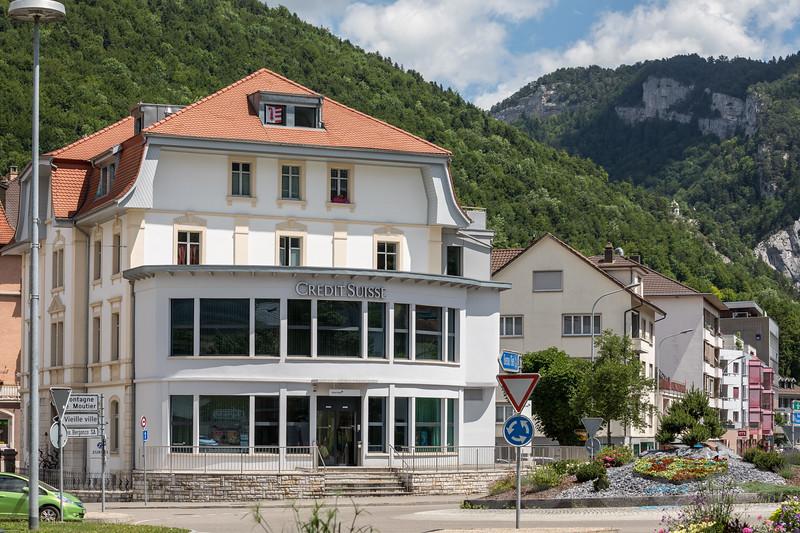 Bankgebäude der Credit Suisse in 2740 Moutier © Patrick Lüthy/IMAGOpress.com