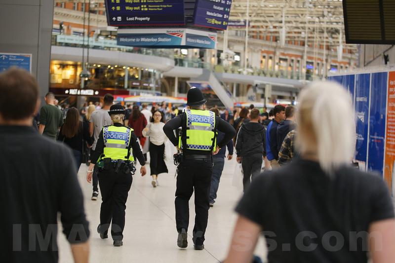 England - Tourists after London Bridge Terror Attacks