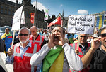 Netherlands - Moroccans Protest in Amsterdam