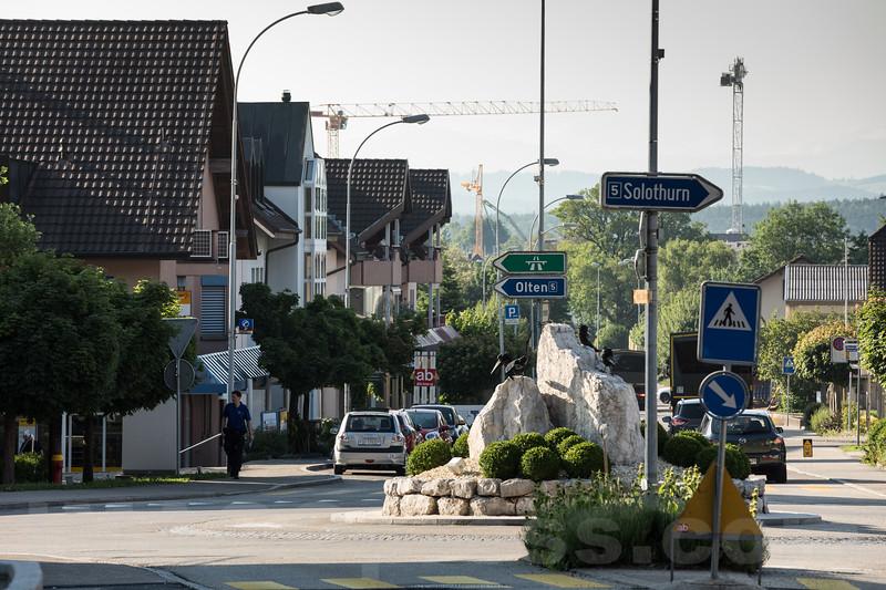 Kreisel in 4622 Egerkingen © Patrick Lüthy/IMAGOpress.com