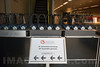 Sennheiser Kopfhörer für Simultanübersetzung stehen an der 64. Generalversammlung des Schweizerischen Gemeindeverbandes bereit © Patrick Lüthy/IMAGOpress.com