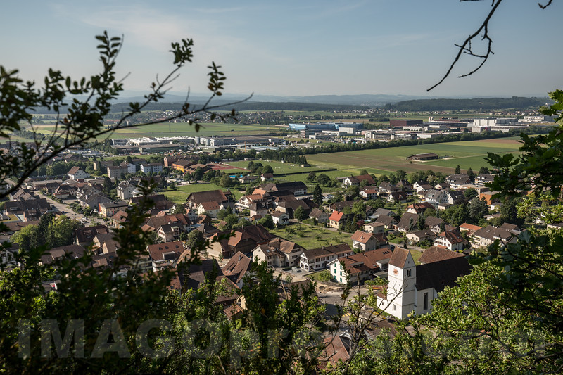 St.-Martins-Kirche - Blick vom Känzeli auf die Gemeinde Egerkingen © Patrick Lüthy/IMAGOpress.com