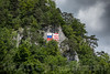 2740 Moutier - Die Gemeinde Moutier wird am 18. Juni 2017 über ihre Kantonszugehörigkeit abstimmen - Die während der Zeit der Zusammenstösse gemalte Jura - Flagge © Patrick Lüthy/IMAGOpress.com