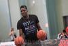 Clint N'Dumba-Capela - Schweizer Basketballspieler - Capela ist Mitglied der Schweizer Basketballnationalmannschaft und spielte in der französischen Ligue Nationale de Basket Pro A für Élan Sportif Chalonnais. Seit 2014 steht er bei den Houston Rockets in der NBA unter Vertrag © Patrick Lüthy/IMAGOpress.com