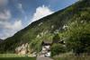 Berner Wappen an einem Haus in Seehof im Verwaltungskreis des Berner Jura © Patrick Lüthy/IMAGOpress.com