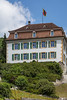 Berner Fahne auf dem Gebäude der Berner Verwaltung in 2740 Moutier © Patrick Lüthy/IMAGOpress.com