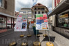 Abstimmungsplakate in 2740 Moutier - Am 18. Juni 2017 werden die Stimmberechtigten von Moutier über die Kantonszugehörigkeit ihrer Gemeinde abstimmen © Patrick Lüthy/IMAGOpress.com