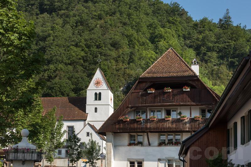 St.-Martins-Kirche im Dorfkern von 4622 Egerkingen © Patrick Lüthy/IMAGOpress.com