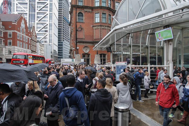 Liverpool Street Underground Station Central