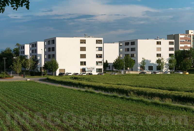 Wohnsiedlung an der Einschlagstrasse in 4622 Egerkingen © Patrick Lüthy/IMAGOpress.com