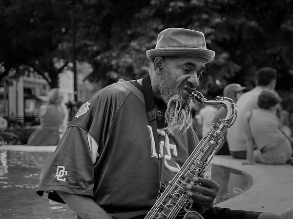 Street Performer, Washington DC.