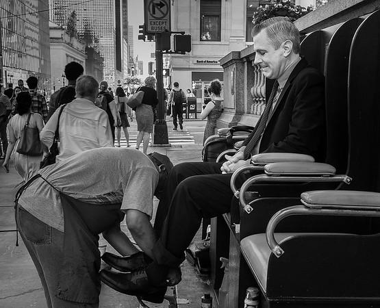 Shoe Shine, New York City