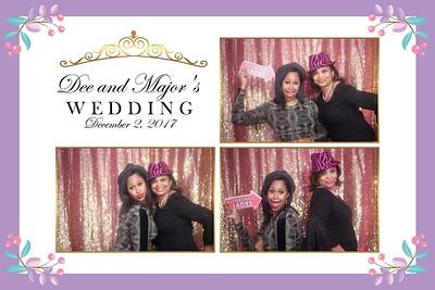 Deidra and Major's Wedding 2017