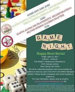 2017-04-14 Game Night Happy Hour