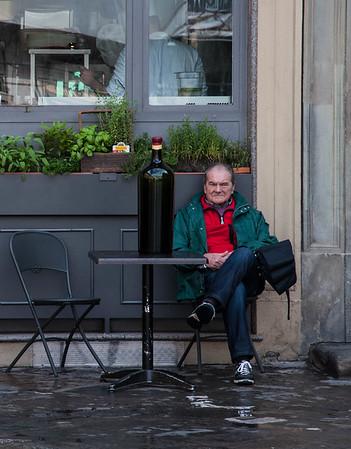 Man at Table -Ed Stewart