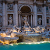 Trevi at Night - Ed Stewart