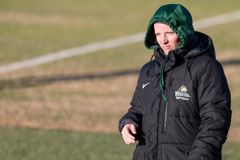 Interim Head Coach Justine Wichman