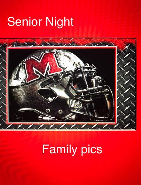 Senior Night Pics